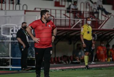 Eduardo Barroca deixa comando do Atlético-GO | Bruno Corsino | ACG