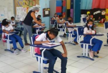 Aulas presenciais são retomadas na rede municipal de ensino   Divulgação   Smed