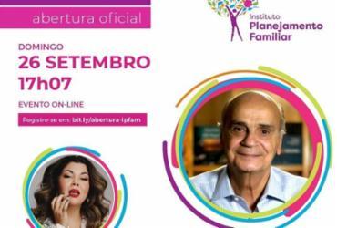 Evento virtual do Ipfam inicia no próxima domingo com palestra de Dráuzio Varela | Divulgação