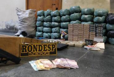 Polícia encontra 53 kg de maconha em Feira de Santana