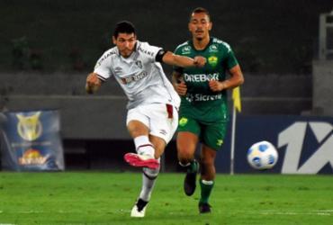 Fluminense e Cuiabá empatam em 2 a 2 na Arena Pantanal |