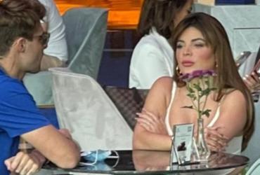 Influencers Gkay e Rezende são flagrados juntos em Dubai | Reprodução | Coluna Leo Dias