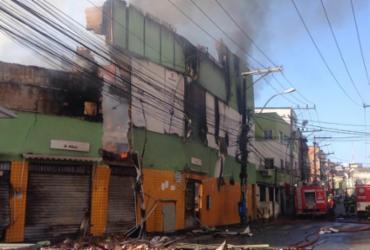 Incêndio em loja de autopeças no Vale da Muriçoca |