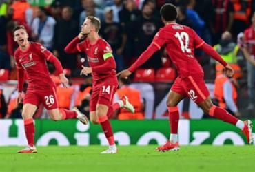 Milan perde para o Liverpool em sua volta à Champions após sete anos |