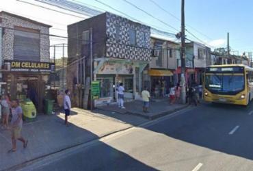 Passageiros são assaltados em ponto de ônibus no Lobato | Reprodução | Google Street View