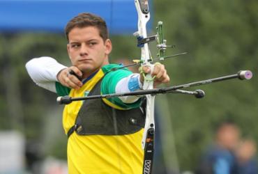 Marcus D'Almeida é vice-campeão do Mundial de tiro com arco |