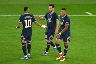 PSG vence City na Champions com primeiro gol de Messi | Alain Jocard | AFP