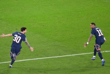 Messi marca sobre o City seu primeiro gol com a camisa do PSG; assista | Alain Jocard | AFP