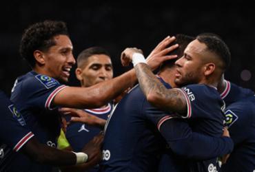 De virada, PSG vence Lyon em jogo com gols de Neymar e Paquetá; veja os gols | Frankc Fife | AFP