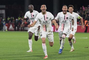Gol nos acréscimos garante invencibilidade do PSG no Francês |
