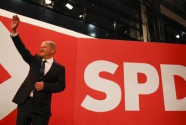 Partido Social-Democrata vence eleição na Alemanha com 25,7% dos votos | Odd Andersen / AFP