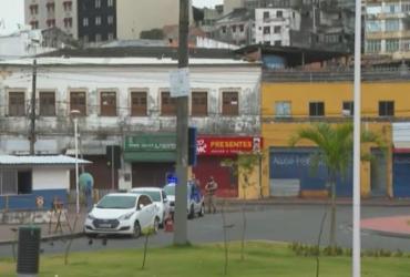 Ônibus voltam a circular na Barroquinha após protesto por morte de jovens | Reprodução | TV Bahia