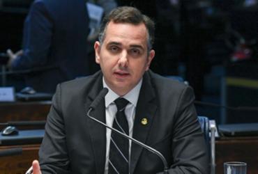 Sem citar Bolsonaro, Pacheco fala em pulso firme contra retrocessos à democracia | Marcelo Camargo I Agência Brasil