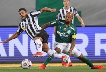 Palmeiras e Atlético-MG empatam sem gols na semifinal da Libertadores | Cesar Greco | SE Palmeiras