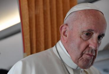 Papa reprova cardeais 'negacionistas' que não querem ser vacinados | Tiziana Fabi | POOL | AFP