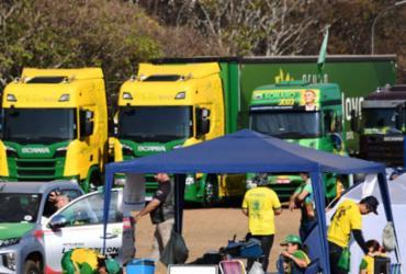 Com ameaça de greve, caminhoneiros terão reunião no Planalto | Evaristo Sá / AFP
