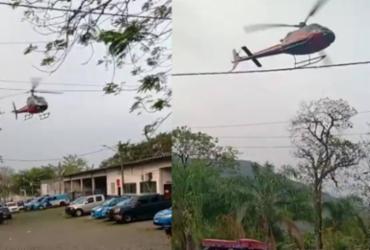 Bandidos rendem piloto em helicóptero no ar e tentam acessar presídio do Rio |