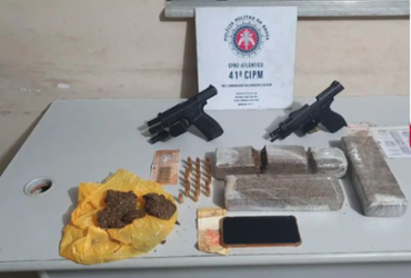 Suspeitos de integrar facção criminosa são baleados em confronto na Federação | Divulgação | 41ª CIPM