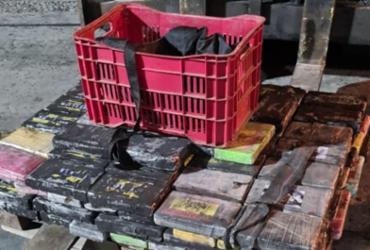 Funcionários do Porto de Salvador são flagrados colocando cocaína em contêiner que iria à Europa | Divulgação | PF