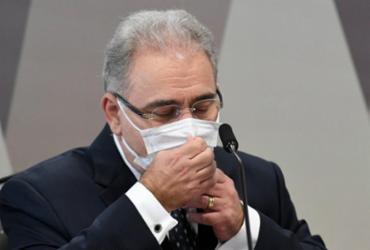 Queiroga prevê fim da obrigatoriedade de máscara ao ar livre em novembro, diz coluna | Jefferson Rudy | Agência Senado