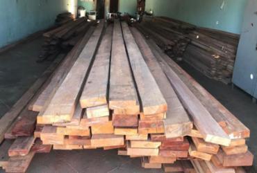 Carga de madeira é recuperada na Bahia | Divulgação | PC