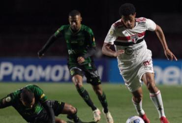 São Paulo e América-MG empatam em 0 a 0 pelo Brasileirão | Rubens Chiri | São Paulo FC