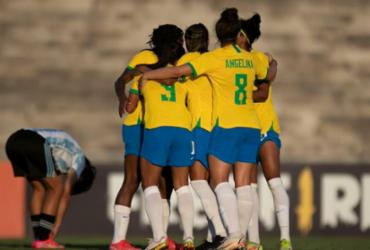 Seleção feminina derrota Argentina por 3 a 1 em amistoso | Talita Gouvêa | CBF