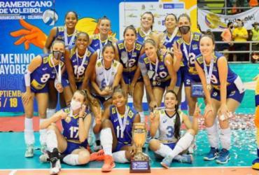 Vôlei: Brasil é campeão sul-americano, mas cai no ranking feminino | Divulgação | Inderbarranca