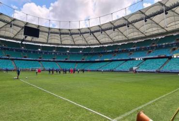 Sesab avalia pedido do Bahia para contar com 30% de público na Fonte Nova em outubro | Felipe Oliveira | EC Bahia