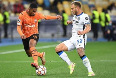 Shakhtar e Inter ficam no 0 a 0 em Kiev pela Liga dos Campeões |