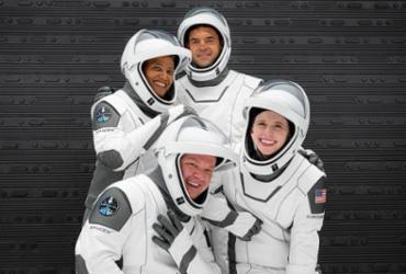 Primeira tripulação apenas de civis da SpaceX chega ao espaço | Reprodução | Twitter