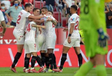 Após dois empates, Sevilla volta a vencer no Espanhol |