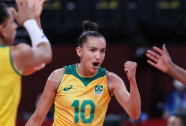 Vôlei: Brasil estreia no Sul-Americano com vitória sobre o Peru | Wander Roberto | COB