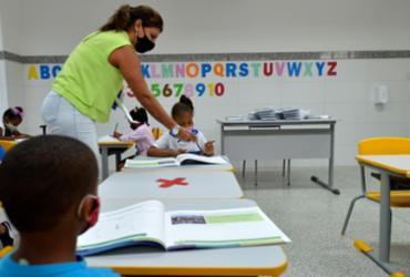 Aulas presenciais são retomadas na rede municipal de ensino em Salvador |