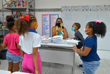 Aulas presenciais são retomadas na rede municipal de ensino | Shirley Stolze / Ag. A TARDE