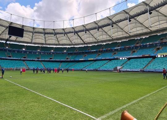 No retorno à Fonte Nova, Bahia tenta seguir em reação contra o Bragantino | Felipe Oliveira | EC Bahia