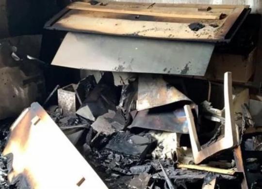 Idosa escapa de incêndio em apartamento e família cria vaquinha para reconstruir imóvel | Reprodução | Vaquinha virtual