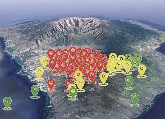 Erupção vulcânica pode causar tsunami na Bahia   Reprodução