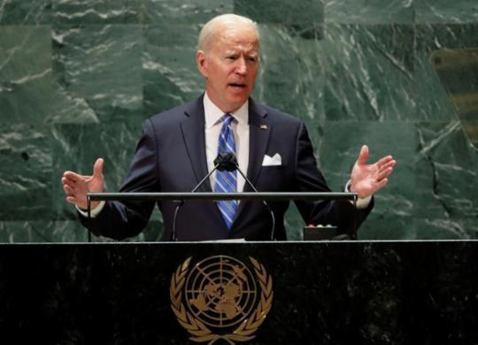 Biden rejeita 'nova Guerra Fria' e fala em cooperação internacional em Assembleia-Geral da ONU | Reprodução | CNN Brasil