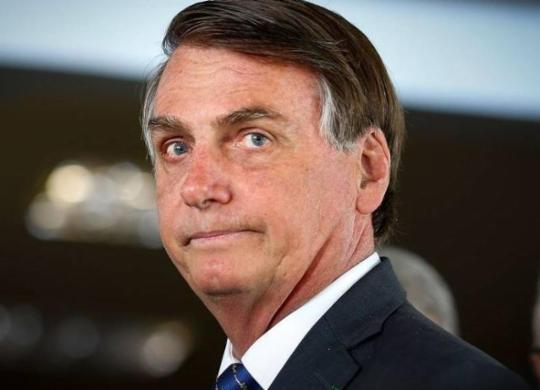 """""""A chance de um golpe é zero"""", diz Bolsonaro em entrevista a revista   Sergio Lima   AFP"""