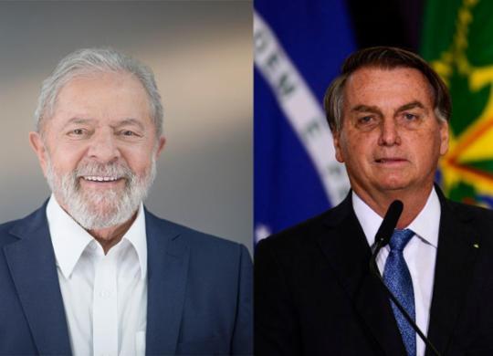 Lula segue com vantagem e lidera corrida presidencial contra Bolsonaro, diz Datafolha | Divulgação