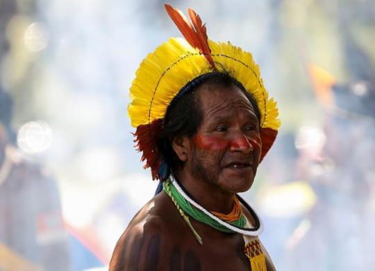 Indígenas vão à ONU desmentir discurso de Bolsonaro | Marcelo Camargo I Agência Brasil