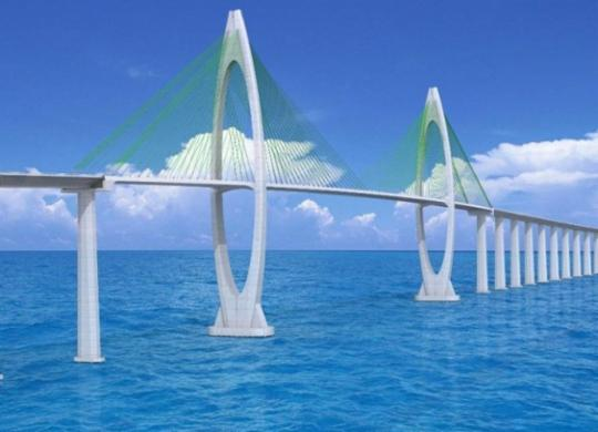E a ilha já se organiza esperando a ponte. Tudo indica que agora vai | Divulgação