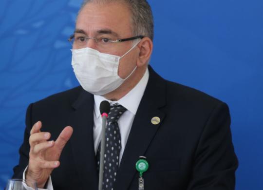 Em NY, Queiroga perde o controle e mostra dedo do meio para críticos ao governo | Fabio Rodrigues Pozzebom I Agência Brasil