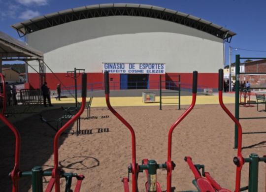 Governo entrega ginásio e autoriza novos investimentos em Irajuba | Divulgação