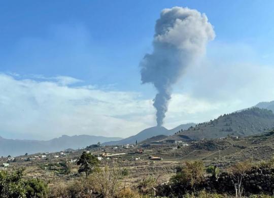 Sem tsunami em Salvador: atividade do vulcão das Canárias tem queda acentuada | Desiree Martin | AFP