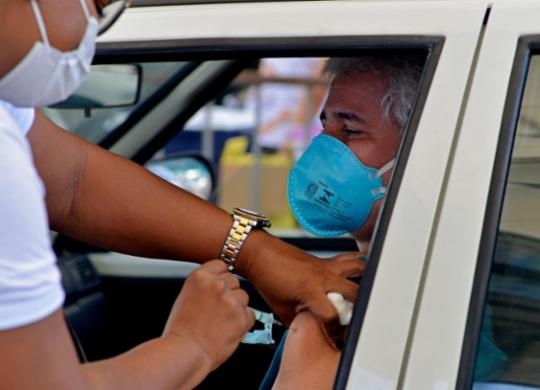 Salvador tem 74 mil adultos que ainda não foram se vacinar | Shirley Stolze | Ag. A TARDE