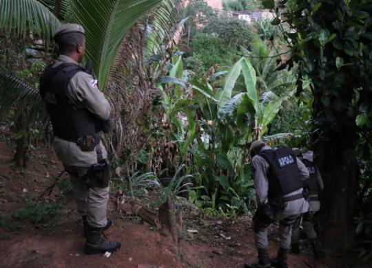 PM é baleado durante operação em Valéria; policiamento é reforçado   Alberto Maraux/ SSP