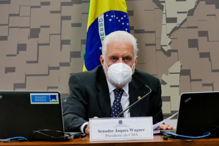Jaques Wagner era o governador da Bahia no período que Adeum Sauer chefiou a Educação | Foto: Roque de Sá | Agência Senado - Foto: Roque de Sá | Agência Senado