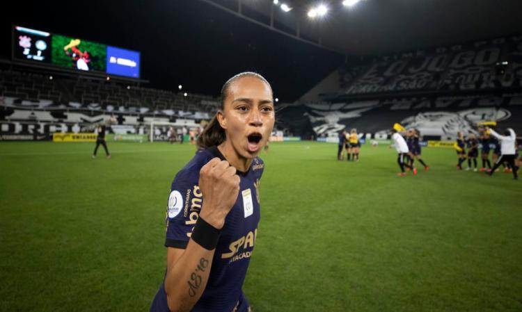 Adriana marcou um golaço na vitória por 3 a 1 sobre o Palmeiras | Foto: Lucas Figueiredo | CBF - Foto: Lucas Figueiredo | CBF